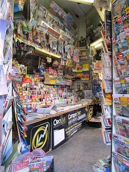 Kiosk, Magazines, Booth, Business, News Stand, Market