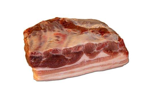 Meat, Pork, Pork Belly, Tuna Belly, Fat, Rind, Pig