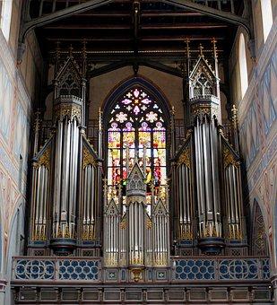 Architecture, Church, Basilica, Organ, Organ Whistle