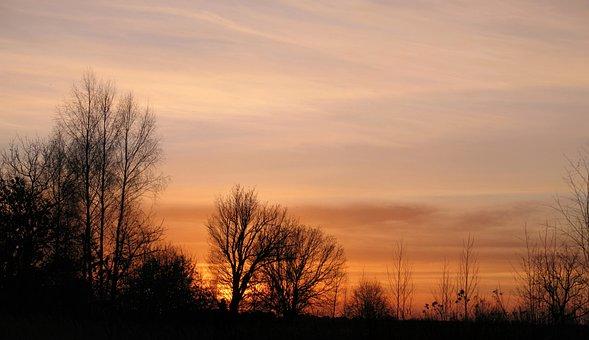Nostalgia, Sunset, Peace Of Mind, Poland, Evening