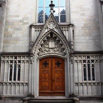 Architecture, Church, Basilica, Portal, St Laurenzen