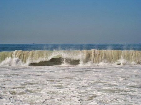 Copacabana, Raging Waves, Rio De Janeiro, Bad Ban