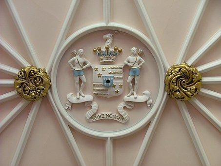 Duns Castle Estate, Scotland, Family Coat Of Arms