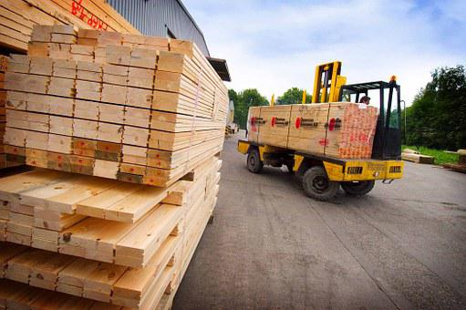 Timber, Sheet Products, Industry, Wood, Stack