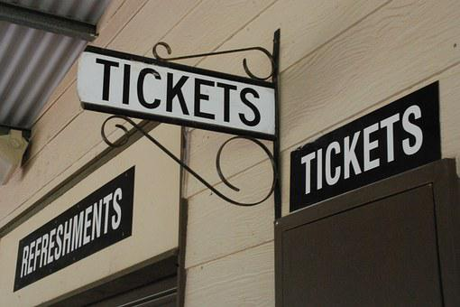 Tickets, Booth, Sign, Admission, Festival, Pay