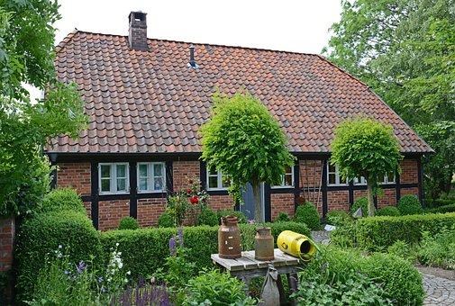 Syke, Barrien, Hahnenfelder Weg, House, Building