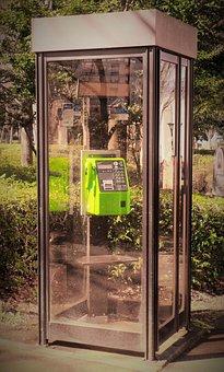 Phone, Phone Booth, Communication, Talk, Call
