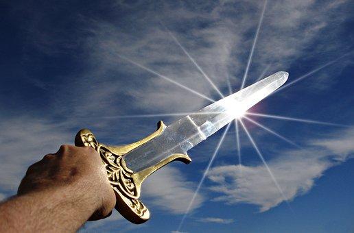 Sword, Victory, Triumph, Weapon, War, Warrior, Knight