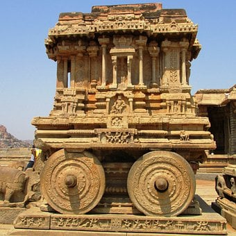 Stone Chariot, Hampi, Unesco World Heritage Site, India