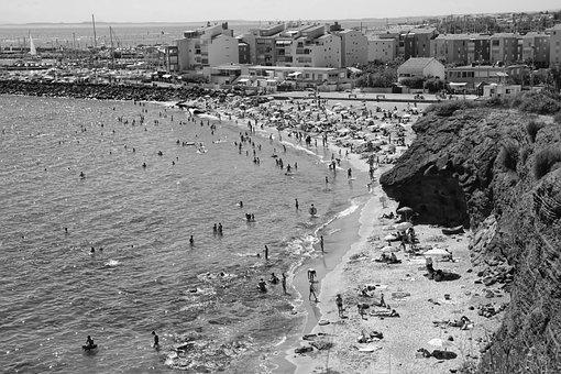 Beach, Vacancy, Sea, Sandy Beach, Sand, Parasol