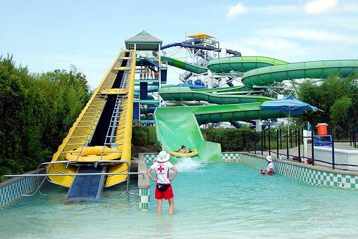 Water Park, Theme Park, People, Water, Park, Theme