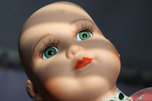 Doll, Baby Doll, Eyes, Face, Beautiful, Portrait