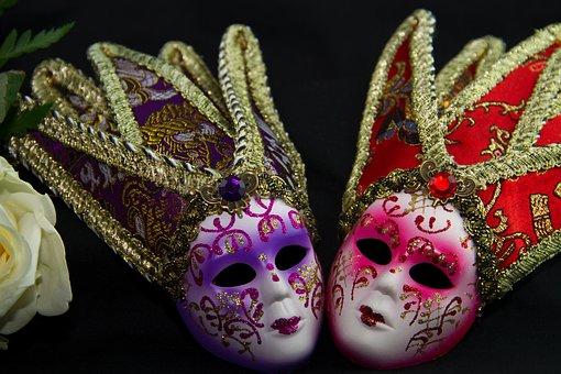 Carnival, Masks, Ornament, Carneval, Ball, Ball Season