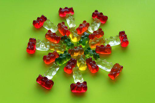 Jelly Beans, Bears, Colorful, Composition, Gelatin
