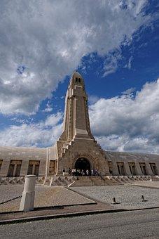 Verdun, First, World War, Memorial, Douaumont, France