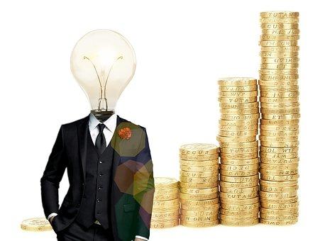 Bitcoin, Financial, Idea, Lightbulb, Account, Bank