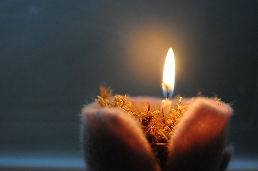 Celebration, Candle, Darkness, Christmas, Flare-up