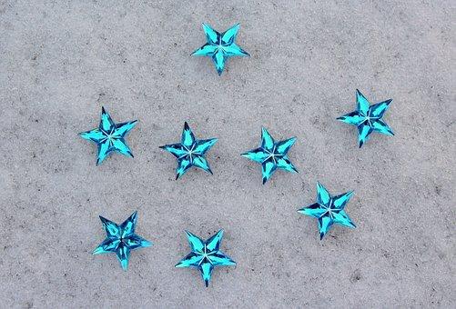 Winter, January, Winter Holidays, Stars, Glass Stars