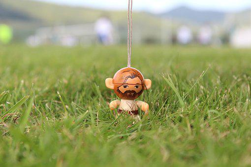 The Character, Wooden Character, In The Grass, Grass