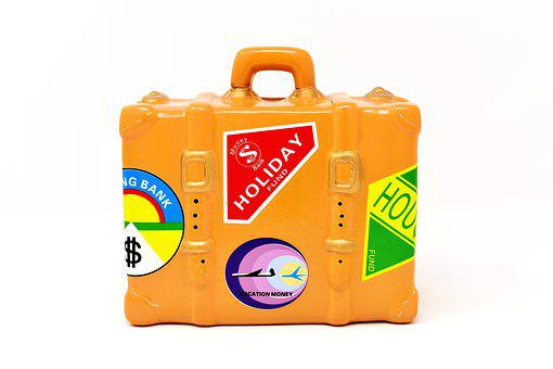Luggage, Travel, Vacations, Go Away, Travel Fund