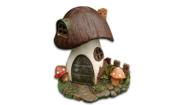 Mushroom House, Decoration, Backyard Ornament, Garden