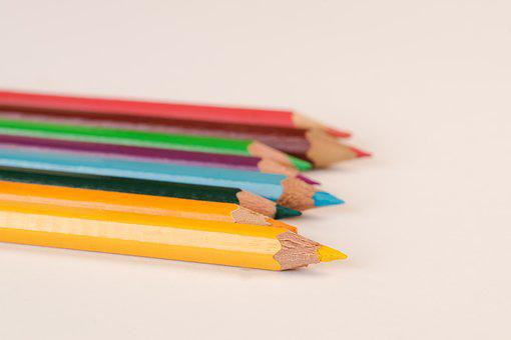 Pencil, Education, School, Sharp, Hobby, Colors