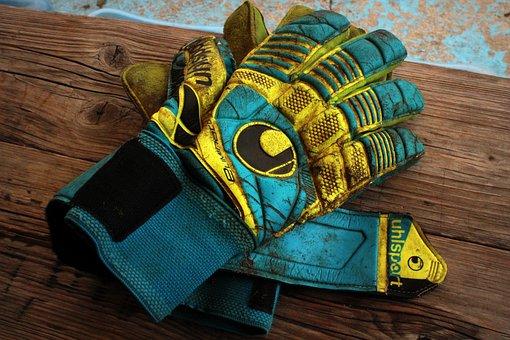 Goalkeeper, Gloves, Goalkeeper Gloves, Sport, Football