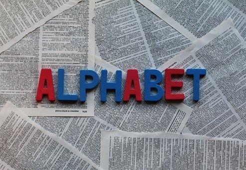 Alphabet, Text, Paper