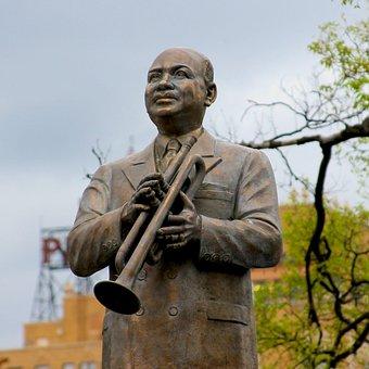 W C Handy, Memphis, Outdoors, Statue, Sculpture, Travel