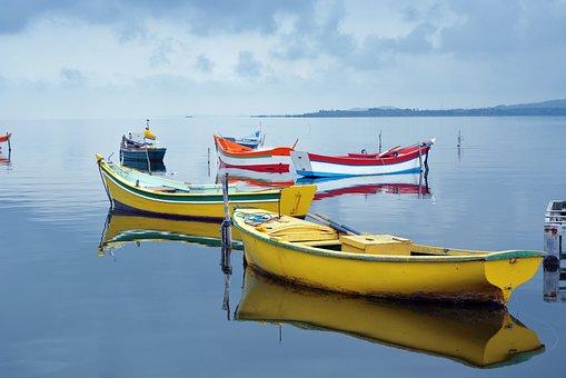 Body Of Water, Boat, Mar, Vessel, Trip, Sky, Ocean