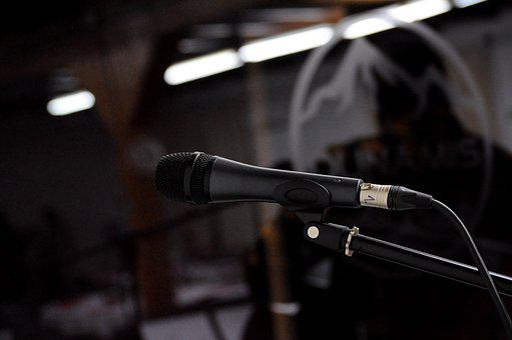Microphone, Sound, Music, Mic, Audio, Voice, Vocal