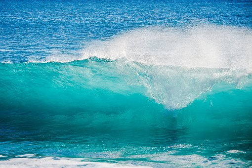 Water, Sea, Surf, Wave, Ocean, Nature, Turquoise