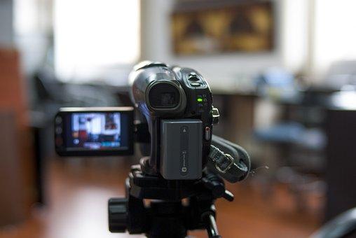 Filmadora, Lens, Movie, Zoom, Technology