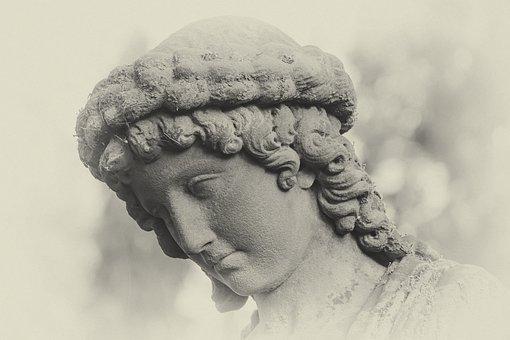Sculpture, Cemetery, Tombstone, Commemorate