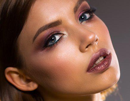 Woman, Portrait, Leather, Fashion, Charm, Eye, Lip