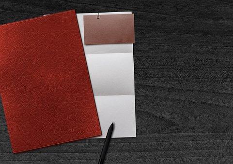 Paper, Business Card, Coolie, Pen, Application