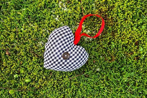 Heart, Stuffed Heart, Decoration, Symbol, Valentine