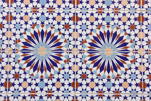 Morocco, Essaouira, Tile, Pattern, Abstract, Art