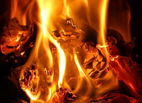 Flames, Heat, Fire, Hot, Fireplace, Inflammatory, Burn