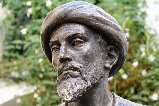 Sculpture, Statue, Cordoba, Andalusia, Maimonides, Jews