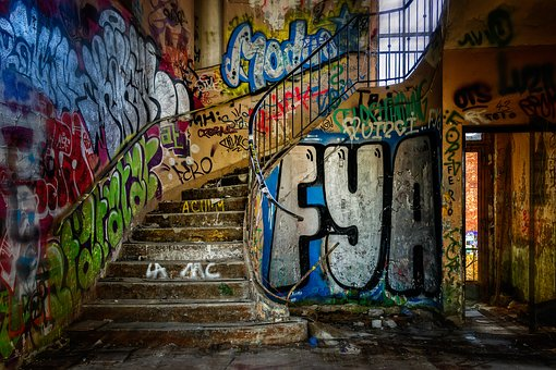 Stairs, Spiral Staircase, Lost Places, Pforphoto