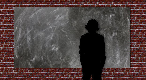 Board, Man, Move, Human, Background, Wall, Stone