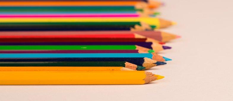 Pencil, School, Desktop Background, Color, Education
