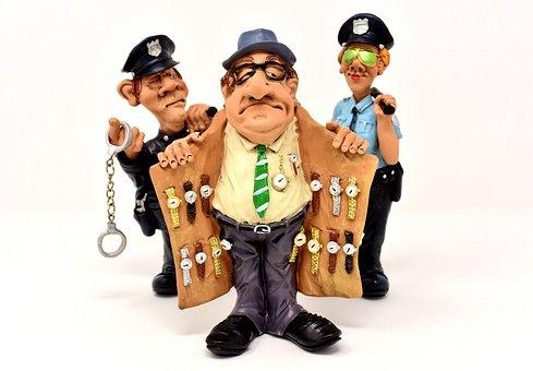 Watch Dealers, Fence, Receiving Stolen Property, Clock