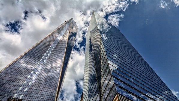 Skyscraper, Architecture, City, Sky, New York, Building