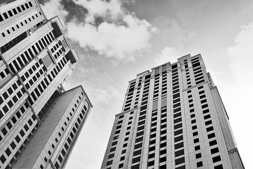 Tallest, Skyscraper, Architecture, Office, City