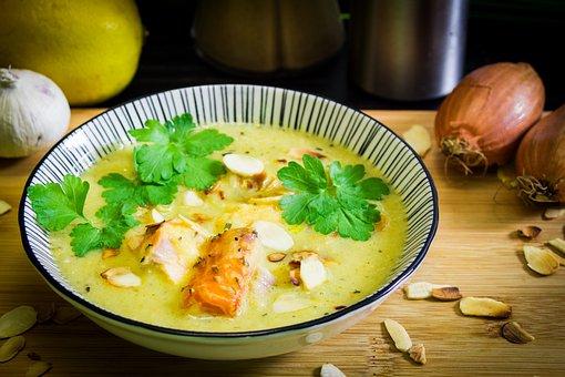 Food, Vegetables, Meal, Soup, Court, Dinner, Cook