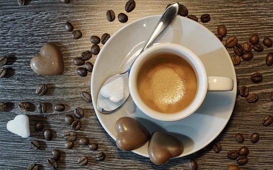 Coffee, Espresso, Cup, Drink, Caffeine, Table, Hot