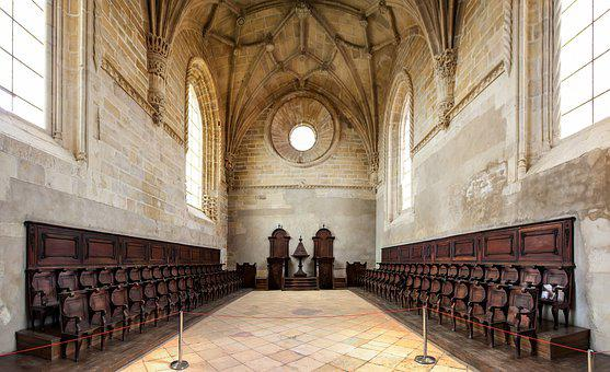 Convent Of Christ, Castle Of The Knights Templar, Tomar