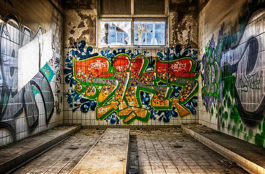 Lost Places, Room, Space, Washroom, Tiles, Pforphoto